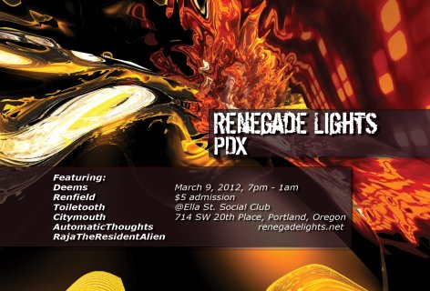 Renegade Lights PDX 2012